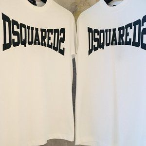DSQUARED NEW SEASON WHITE T SHIRT
